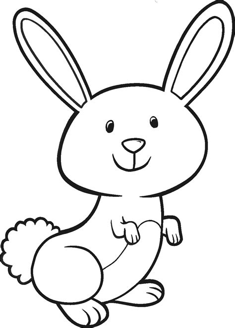 bunny coloring pages getcoloringpagescom