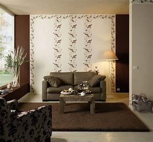 Tapeten Wohnzimmer Beispiele : wandgestaltung mit tapeten beispiele ~ Sanjose-hotels-ca.com Haus und Dekorationen