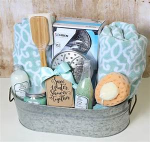 the craft patch shower themed diy wedding gift basket idea With wedding shower gift ideas diy