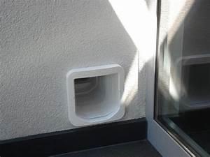 Katzenklappe In Fenster : sureflap mikrochip katzenklappe in hauswand kater doors pets und wands ~ Orissabook.com Haus und Dekorationen
