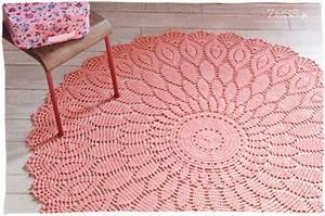 diy le tapis au crochet proposition commandes zess With tapis couloir avec pied de canapé en inox