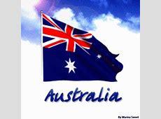 Flag of Australia gif World Flags Animated Gifts