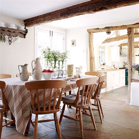 Country Dining Room Ideas Uk by Open Plan Kitchen Design Ideas Ideal Home