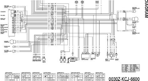 diagram kelistrikan sepeda motor honda grand