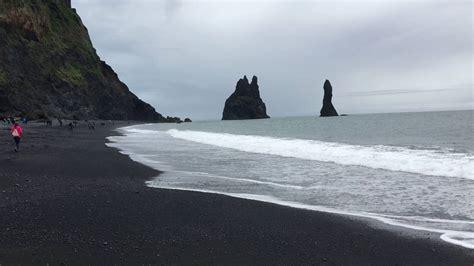 Black Sand Beach Iceland Youtube