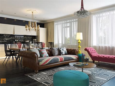 O Home Decoration : Bright And Cheerful Interior Design By Pavel Polinov