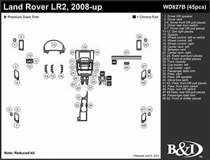 Dash Kits For L Rover Lr2 08