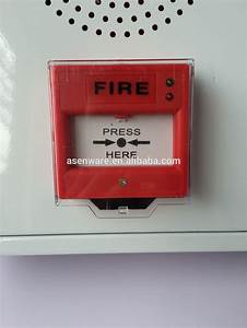 3 In 1 Fire Alarm Panel Including Manual Call Point Strobe