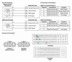 Kia Sportage  Manifold Absolute Pressure Sensor  Maps