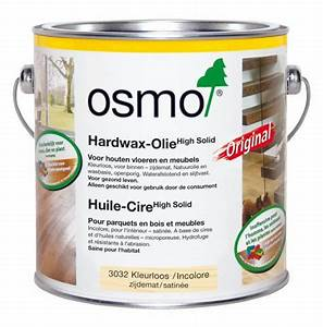 huile cire 3032 incolore satinee 25l l39ame du bois With osmo huile parquet