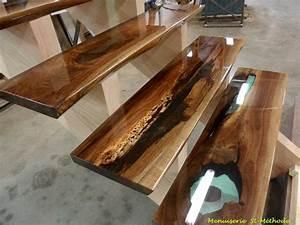 Table En Bois Et Resine : resine epoxy bois maison design apsip com ~ Dode.kayakingforconservation.com Idées de Décoration