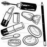 Makeup Coloring Pages Print sketch template