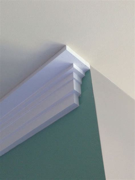 craftsman style crown molding trim detail  creations