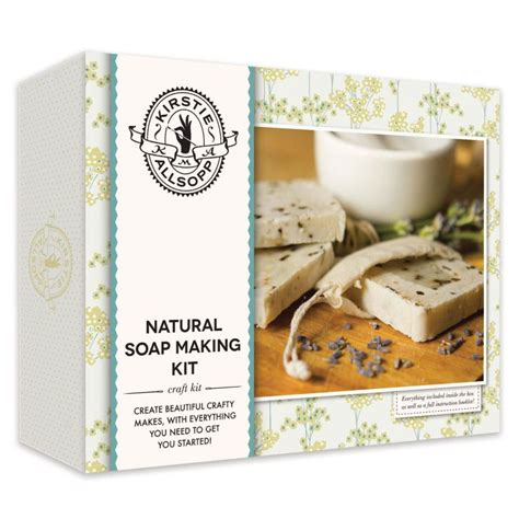 kirstie allsopp natural soap making kit handcrafted