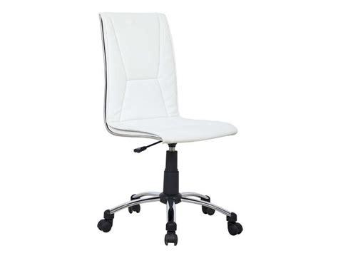 siege de bureau conforama fauteuil de bureau coloris blanc vente de