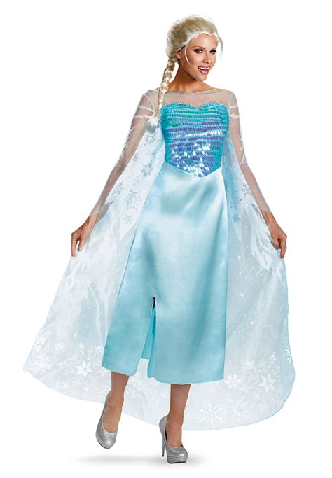 Mukena Frozen Elsa Size Xl disney frozen princess elsa deluxe dress cape costume