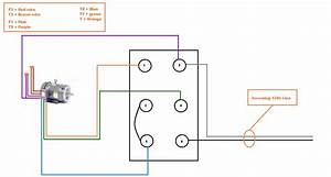 Single Phase Motor Reversing Switch Diagram