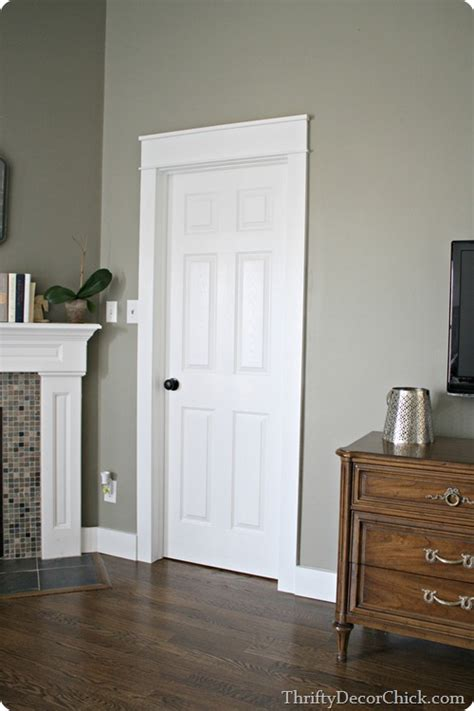 Thrifty Decor Window Trim by Here Is An Exle Of A Simple But Looking