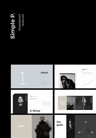Simple Presentation Templates Ppt Template Powerpoint Layout