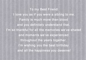 BIRTHDAY WISHES FOR BEST FRIEND QUOTES TUMBLR image quotes ...