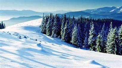 Winter Scene Desktop Wallpapers Scenes Snow Widescreen