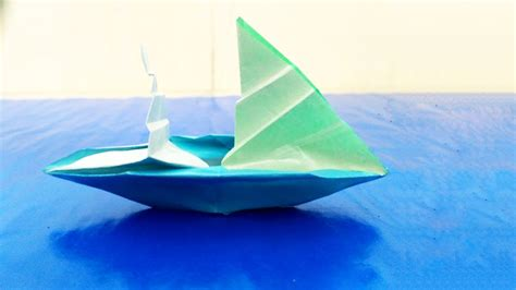 Origami Sailing Boat Instructions by Origami Sailboat That Floats Instructions Tutorial