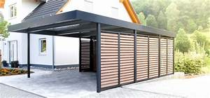 Carport Verkleiden Bilder : siebau carport aus stahl zum aktionspreis kaufen hwg tec ~ Indierocktalk.com Haus und Dekorationen