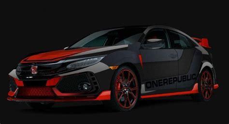 honda civic type  custom car onerepublic design