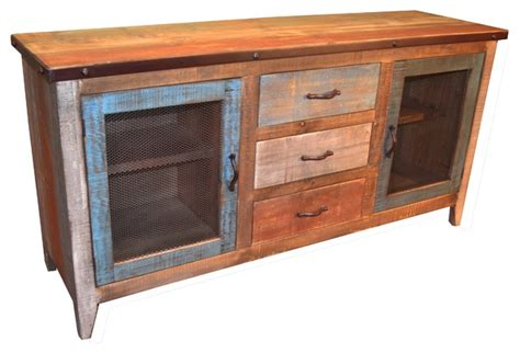 Reclaimed Wood Buffet Sideboard by Reclaimed Wood Sideboard Style Buffets And