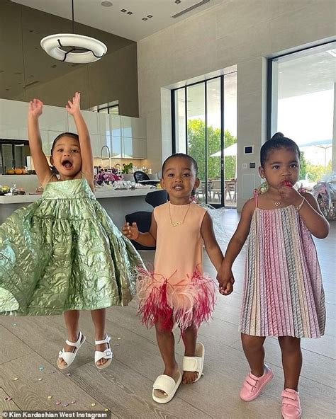 Kim Kardashian shares cute photo of daughter Chi with ...