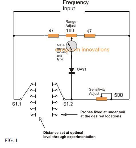 Deep Soil Metal Detector Circuit Ground Scanner