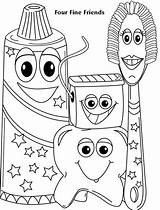 Coloring Pages Dental Health Toddlers Dentist Care Colouring Preschool Fun Tooth Sheets Teeth Toddler Activities Fine Four Friends Printable Electric sketch template