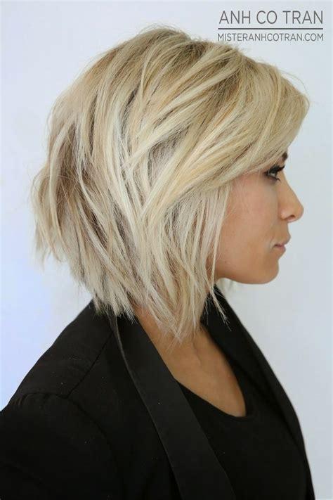 stacked  layered bob hairstyles