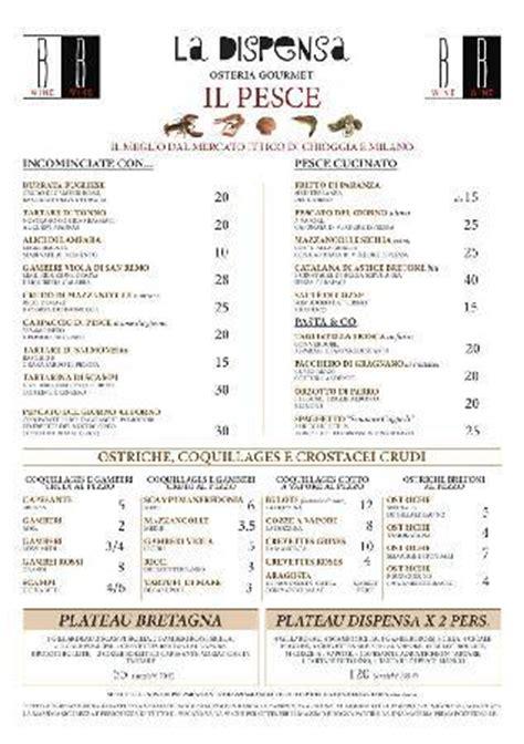 ristorante la dispensa san felice menu pesce picture of la dispensa san felice benaco