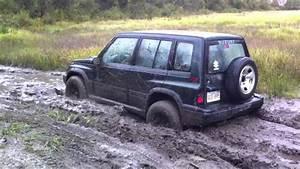 Suzuki Sidekick In The Mud