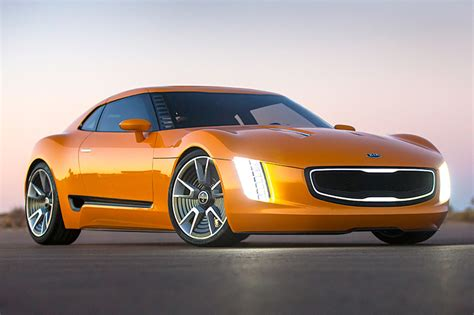 High Performance Kia Sedan And 'stinger' Coupe Rumored For