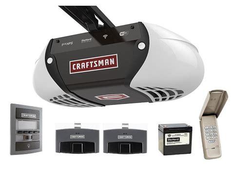 Garage Door Opener Wifi by The New Craftsman Wi Fi Garage Door Opener Garagespot