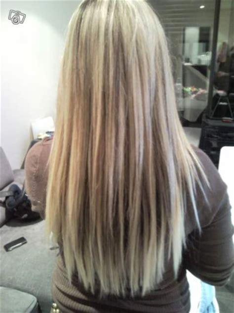 extensions meches blond  chocolat blog de naaylaa