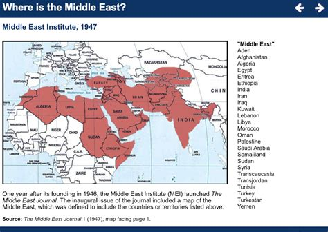 middle east center  middle east