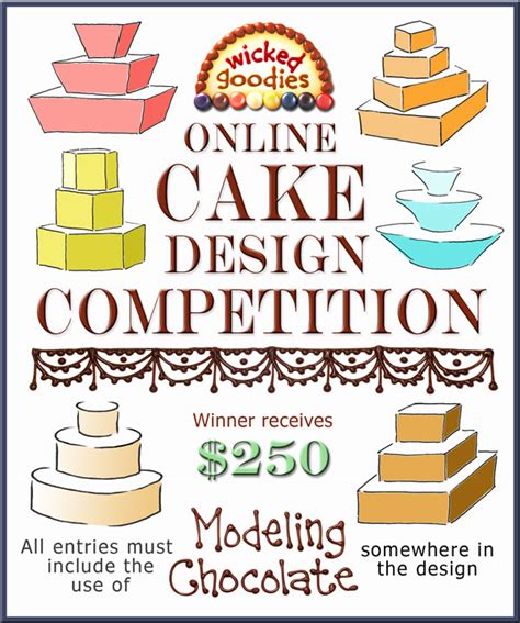 cake decorating competition rules decoratingspecialcom