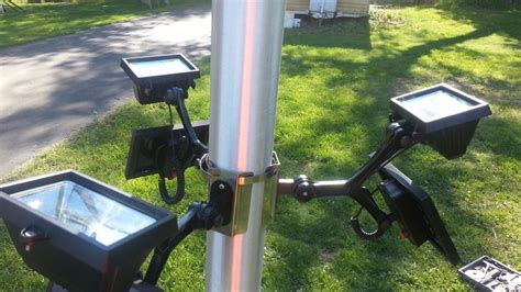 commercial solar flagpole light product details