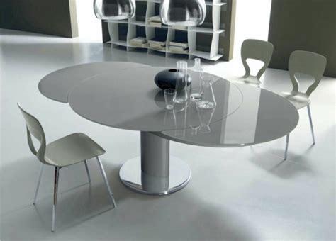 pied reglable pour meuble cuisine la table ronde extensible idées pratiques pour votre