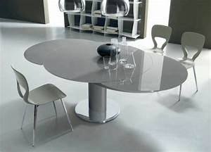 Table Ronde Extensible Design : tables rondes extensibles design ~ Teatrodelosmanantiales.com Idées de Décoration