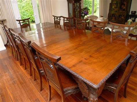 quality   japanese dining table  chairs antiques