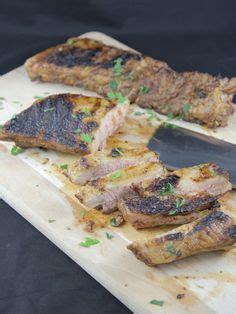 cuisine texane travers de porc à la texane grillés au barbecue viande