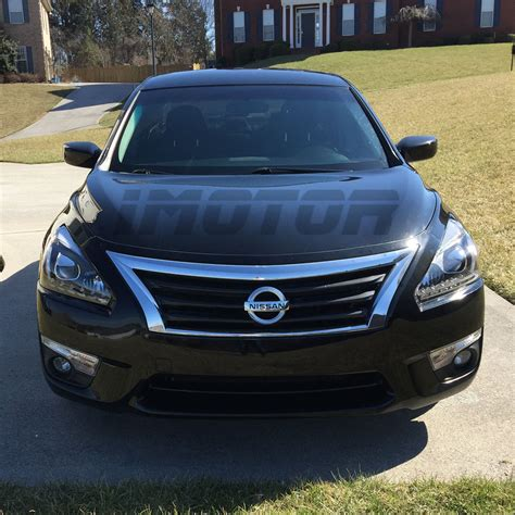 nissan altima headlights led drl for 2013 2014 2015 nissan altima 4dr sedan