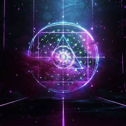 4k Abstract Geometric Effects Wallpapers Elements Spiritual
