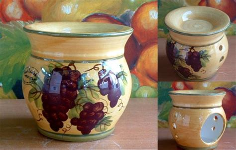 Tuscany Grape Decor For Kitchen by Tuscan Kitchen Canister Sets Tuscany Grape Kitchen Decor
