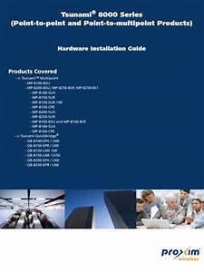 Tsunami 8000 Hardware Guide