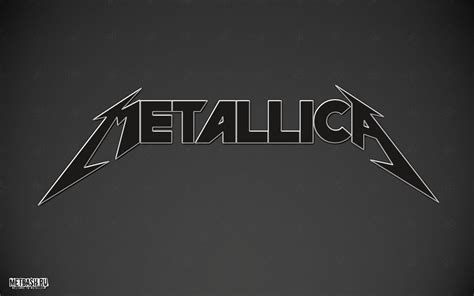 metallica logo wallpaper  wallpapersafari